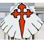 Coquille et croix latine 1